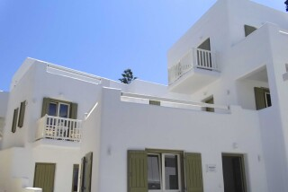 gallery anassa suites naxos exterior