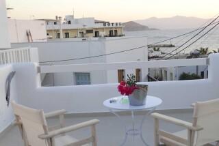 gallery anassa suites naxos sea view balcony