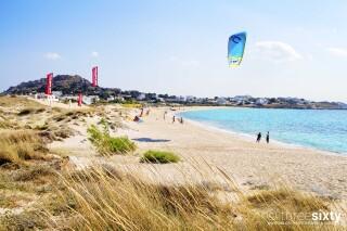 naxos anassa suites mikri vigla kitesurfing