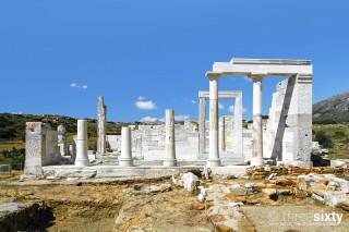 naxos anassa suites temple of dimitra
