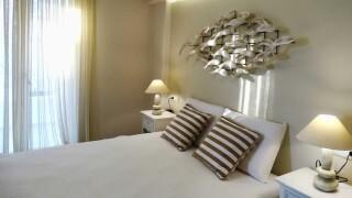 suite anassa naxos bedroom